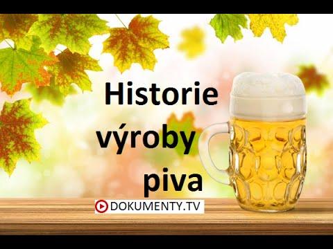Historie výroby piva -dokument