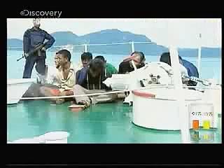 Ross Kemp: Mezi piráty 3 -Indonézia -dokument