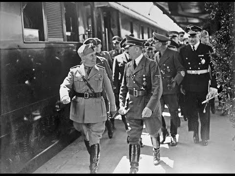 Hitler a Mussolini, část 1 -dokument