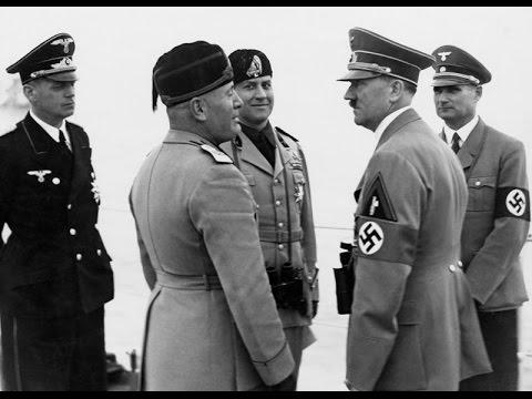 Hitler a Mussolini, část 2 -dokument
