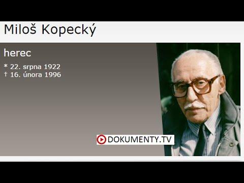 Komici na jedničku: Miloš Kopecký -dokument