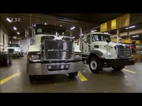 Továrny dneška: Nákladní vozy Mack -dokument