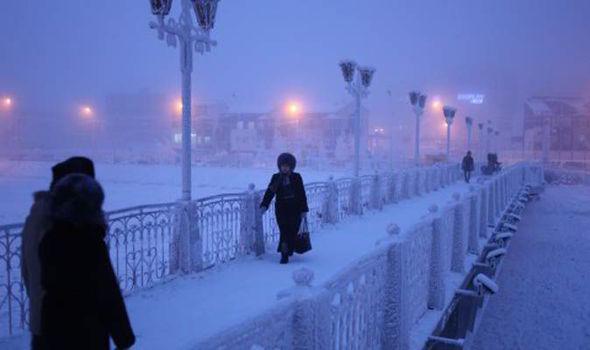 Extrémní města: Jakutsk -dokument