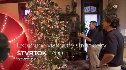Extrémne vianočné stromčeky -dokument
