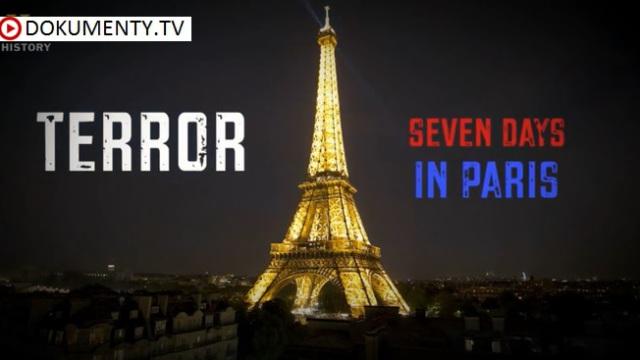 Teror: Sedm dní v Paříži -dokument