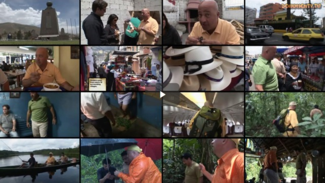 Bizarní jídla s Andrewem Zimmernem: Ekvádor -dokument