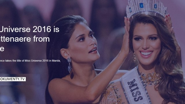 Miss Universe 2016.Mall of Asia Arena.Philippines,30 January 2017 -show/dokument  </a><img src=http://dokumenty.tv/eng.gif title=ENG>