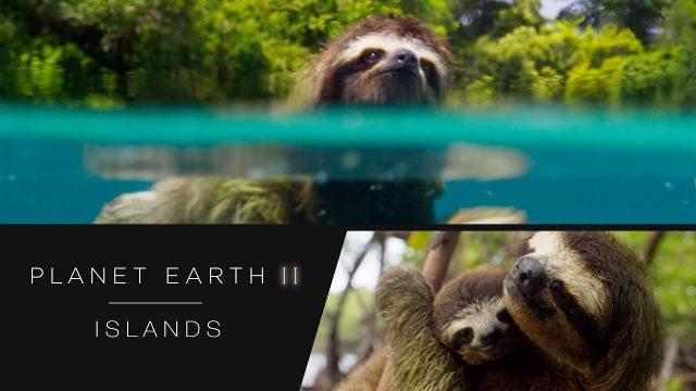 Zázračná planeta II / Planéta Zem II / Planet Earth 2 / část 1: Ostrovy -dokument