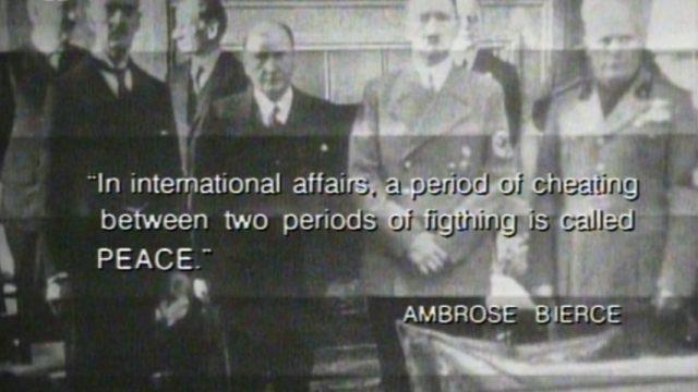 Mír podle Mnichovské dohody -dokument