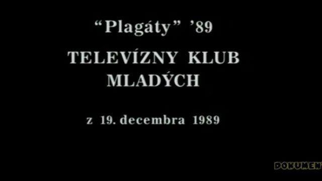 Plagáty '89 -dokument