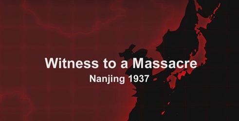 Masakr na vlastní oči: Nanking 1937 / časť 1