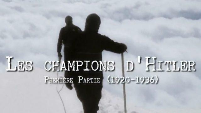 Hitlerovi šampioni / část 1 –dokument