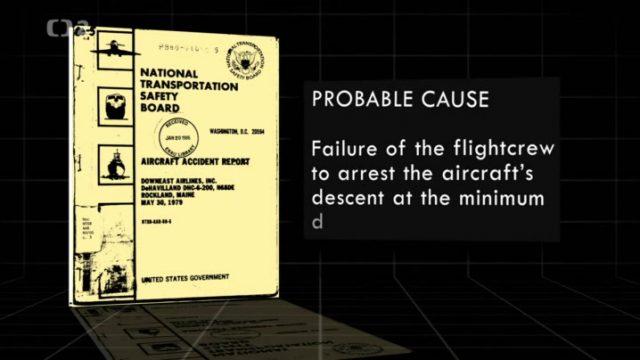 Proč letadla padají: Dotek smrti -dokument
