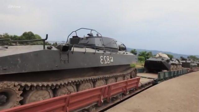 Ruská vojenská technika: Vojenský vlak -dokument