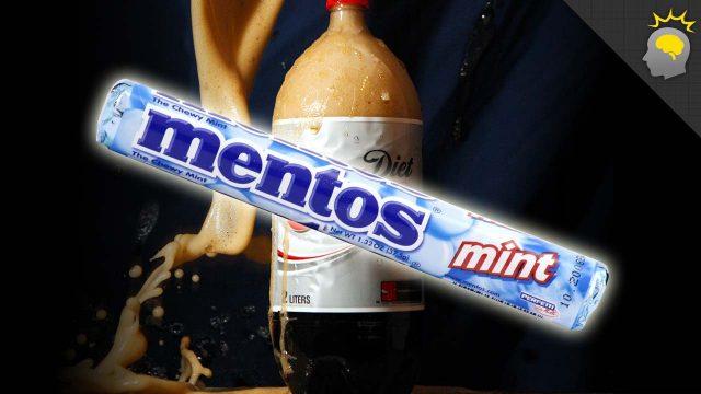 Bořiči mýtu: Mentos a dietní cola -dokument