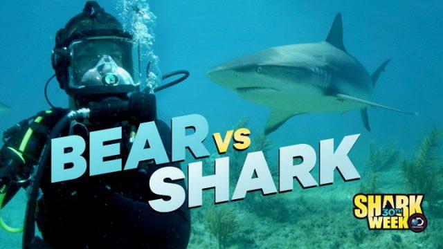 Bear Grylls proti žralokovi -dokument