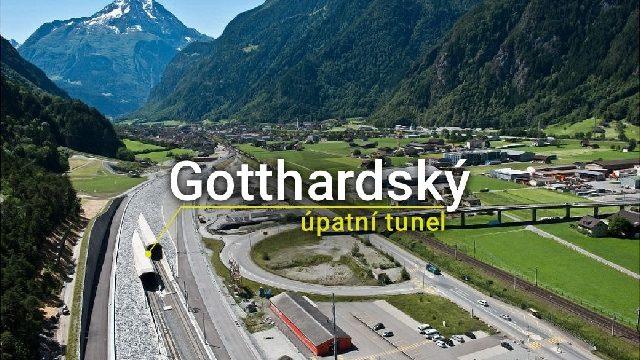 Gotthardský tunel -dokument