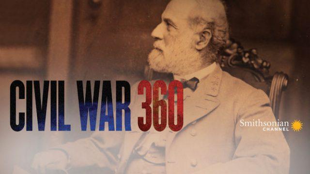 Americká občanská válka 360° /  3.díl -dokument