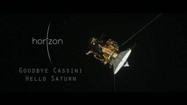 Poslední pozdrav sondy Cassini -dokument