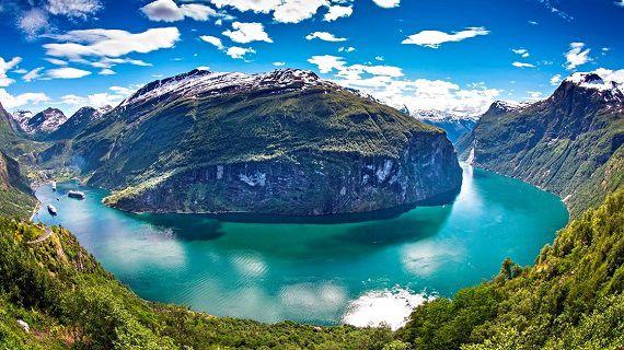 Velkolepé norské fjordy -dokument