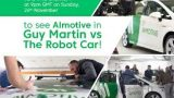 Guy Martin: Robotické auto -dokument