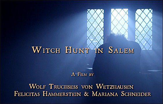 Salemský hon na čarodějnice -dokument