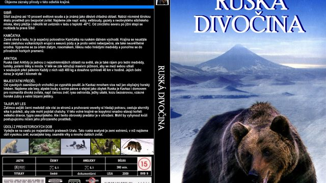Ruská divočina (komplet 1-6) dokument