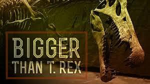 Větší než tyranosaurus -dokument