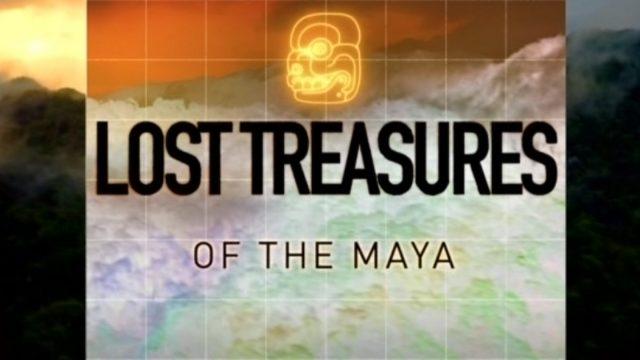 Zapomenuté poklady Mayů (komplet 1-4) -dokument