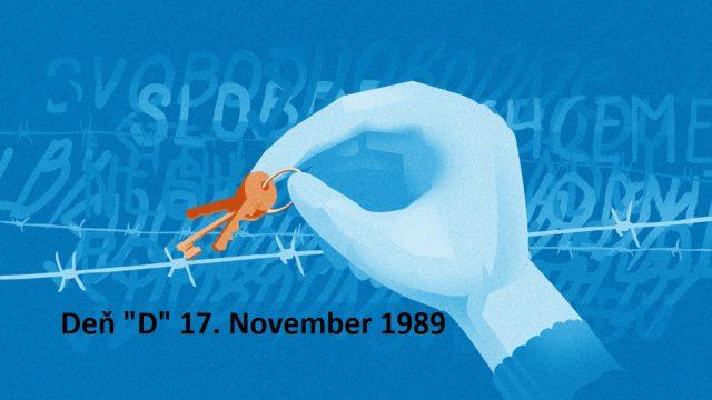 """Deň """"D"""" 17. November 1989  -dokument"""