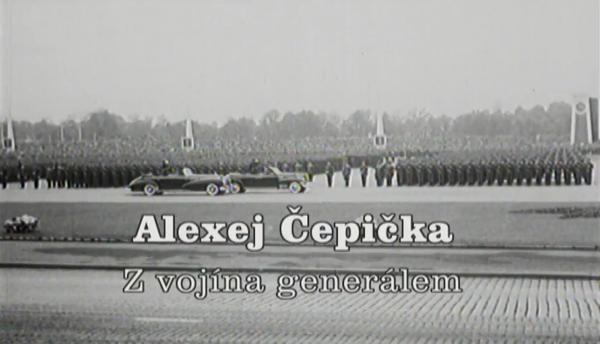Alexej Čepička – Z vojína generálem -dokument