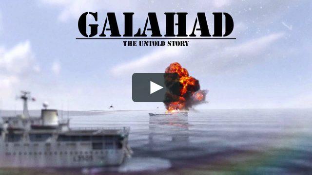 Peklo na lodi Galahad -dokument