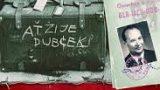 Výjezdní doložka pro Dubčeka / Vycestovacia doložka pre Dubčeka -dokument