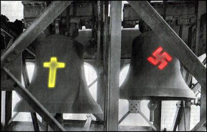 Pravoslavný kříž proti svastice -dokument