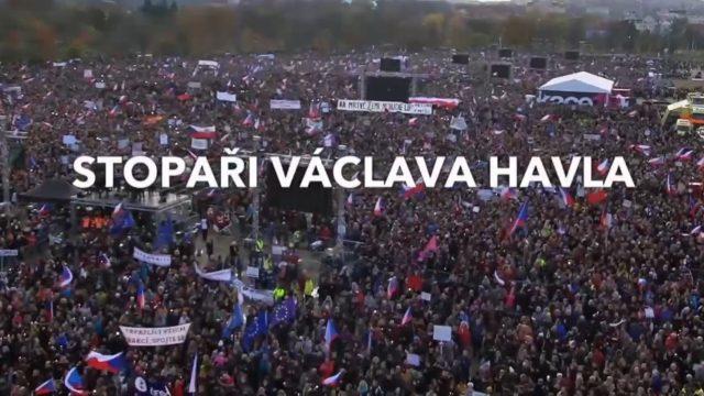 Stopaři Václava Havla -dokument