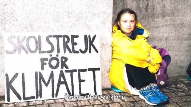 Greta Thunbergová – hlas budoucnosti -dokument