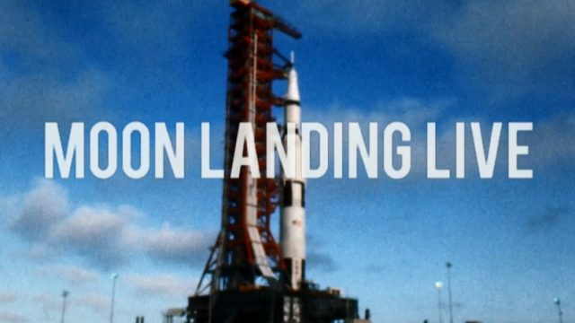 Přistání na Měsíci živě -dokument